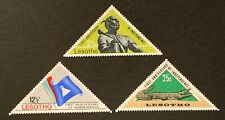 Lesotho. First Anniversary of Independence Full Set. SG141/43. 1967. MNH. (C253)