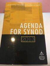 agenda for synod 2013 Book Rare