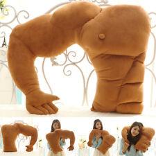 *Boyfriend Muscle Arm Pillow Body Hugging Throw Cushion Girlfriend Rest Sleeping