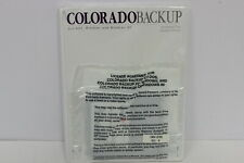 COLORADO BACKUP SOFTWARE FOR DOS WINDOWS AND WINDOWS 95 & SOFTWARE USER'S GUIDE