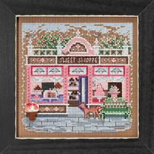 Sweet Shoppe Cross Stitch Kit Mill Hill 2018 Buttons & Beads Spring MH141812