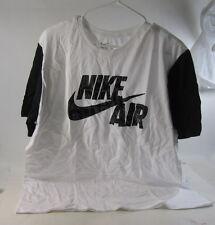 new NIKE AIR FASHION 659792-100 white/black   SIZE L  ***