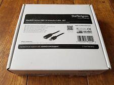 Startech.com 25m 82ft Active USB 2.0 Extension Cable USB2AAEXT25M
