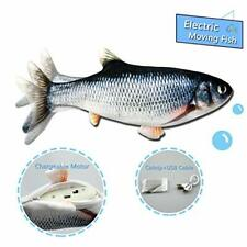 Moving Fish Interactive Cat Toy, Electric Wagging Fish, Realistic Moving Fish, W