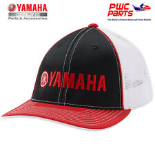YAMAHA Logo Mesh Trucker Red/Black Hat LG/XL MX ATV PWC Boat CRP-14HBK-RD-LX