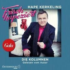 Kerkeling Hape Frisch hapeziert CD HörBuch NEU Die Kolumnen Ungekürzte Autorenle