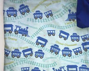 Child Weighted Blanket CHOO CHOO I love Trains 4 Lbs. Handmade New