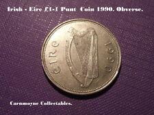 Irlanda (Eire) £ 1 - 1 moneda de 1990. AH3539. batea