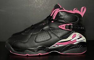 Air Jordan 8 Retro GS Pinksicle 580528-006 Youth Size 7Y/Women's Size 8.5