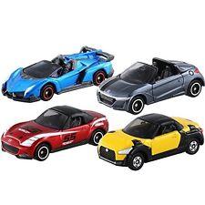 Tomica Gift : Open Car Set Lamborghini Veneno Roadster Mazda MX-5 Diecast Toy.
