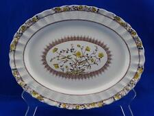 "Spode BUTTERCUP 13"" Oval Serving Platter - Copeland England - Small Chip"
