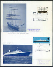 Great Britain 1969 Ships set 6 maximum cards in fine condition (2020/05/19#05)