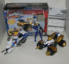 POWER RANGERS SPD QUAD,DELTA MORPH ATV + BIKE + BLUE R.,BANDAI 20069,90231,20173
