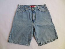 Vintage 90s Mens Shorts Silver Tab Levis 100% Cotton Loose Fit Size 34 Hip Hop