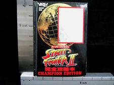 STREET FIGHTER II 2 Guide Champion Edit SFC Book TK*
