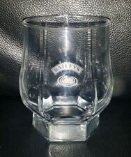 RARE COLLECTABLE BAILEYS IRISH CREAM GLASS IN GREAT USED CONDITION