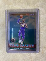 2019-20 NBA Hoops Lebron James Zero Gravity Holo Insert SHIPS TODAY FOR FREE!