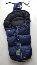Neuwertig - Winterfußsack von Odenwälder Babynest ADA ca. 90cm, blau