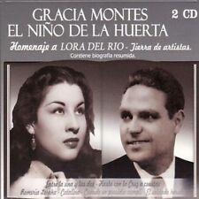 GRACIA MONTES EL NIÑO DE LA HUERTA - HOMENAJE A LORA DEL RIO - 2CDS [CD]