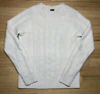 RALPH LAUREN Black Label 100% Lambs Wool Tight Cable Knit Sweater SZ Small