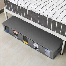 Large Capacity Under bed Storage Bag Box 5 Slots Shoes Duvet Clothes Container