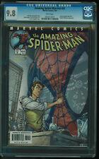 Amazing Spider-Man v2 #31 (472) Marvel 2001 CGC 9.8 White Campbell Cover