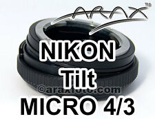 Nikon Objektiv an Micro 4/3 FourThirds Lumix Pen Kamera \ Camcorder. 8 ° Tilt Adapter