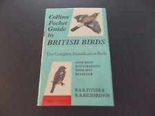 Collins Pocket Guide British Birds~HCDJ~>1000 Illustrations~Fitter & Richardson