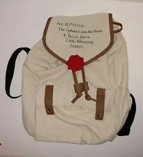 Harry Potter Cupboard Under Stairs Hogwarts Letter Slouch Book Bag Backpack
