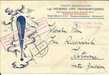 Poland ZAKOPANE-ATTEMPTED STRATOSPHERE FLIGHT 13/X/1938, souveni