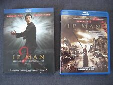 Ip Man 1 & 2 Bluray Movie BRUCE LEE STORY kung fu karate boxing fighting action