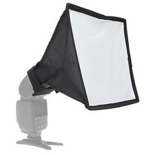 New Mini Softbox Diffuser 20x30cm for DSLR Flash Speedlite Speedlight Portable