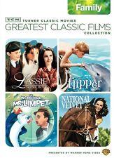 TCM GREATEST CLASSIC FILMS COLLECTION FAMILY DVD 4 Films Flipper Limpet Velvet