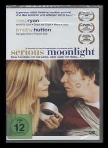 DVD SERIOUS MOONLIGHT - MEG RYAN + TIMOTHY HUTTON - SCHWARZE ROMANTIK-KOMÖDIE **