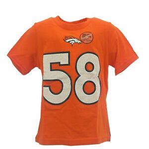 Denver Broncos Von Miller Nike NFL Apparel Infant Baby Toddler Size T-Shirt New