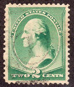 US # 213 (1887) 2c - Grade: XF -  'George Washington'