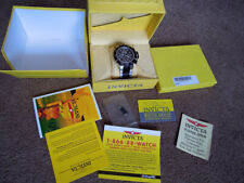 Invicta Moonphase Triple Date Chronograph Automatic ETA Valjoux 7751 Box Papers