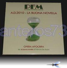 """PFM """"A.D. 2010 LA BUONA NOVELLA"""" 2 LP FABRIZIO DE ANDRE"""