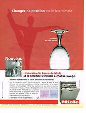 PUBLICITE ADVERTISING 045  2005  MIELE  lave vaisselle ASANA