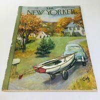The New Yorker: Oct 11 1958 - Full Magazine/Theme Cover Arthur Getz