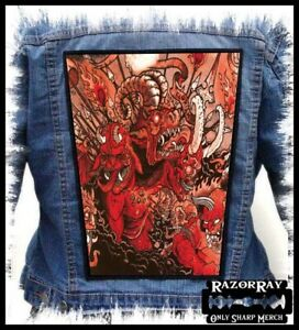 AGORAPHOBIC NOSEBLEED - Backpatch Back Patch / Full of Hell Pig Destroyer
