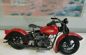 harley davidson tin motorcycle handmade