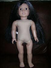 "AMERICAN GIRL DOLL 18"" HISTORICAL JOSEFINA Nude RETIRED PLEASANT CO."