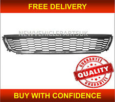 VW POLO 2009-2014 FRONT BUMPER GRILLE CENTRE LOWER WITH CHROME MOULDING TRIM NEW