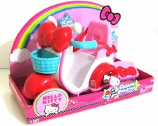 Hello Kitty Chasing Rainbows Plastic Toy Scooter Pink/Red
