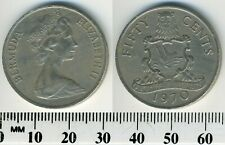 Bermuda 1970 - 50 Cents Copper-Nickel Coin - Elizabeth II - Arms