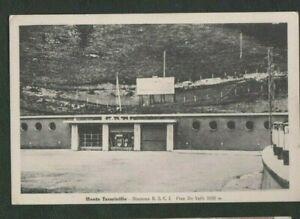 Vintage Postcard, Monte Terminillo, Stazione R.A.C.I.