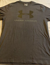 Under Armour Men's Gray Long Sleeve Exercise T Shirt Size Large Adult Sz L