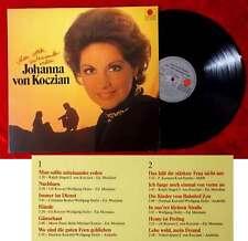 LP Johanna von Koczian: Man sollte miteinander reden (Ariola 202 582-365) D 1981