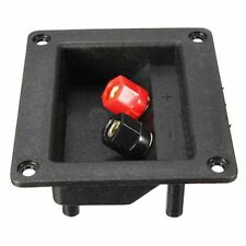 92x79mm Square Binding Post Type Speaker Box Terminal Cup Wire Connector Boar !!